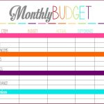 001 Home Budget Spreadsheet Free Monthly Planner   Free Printable | Easy Budget Planner Free Printable Worksheets