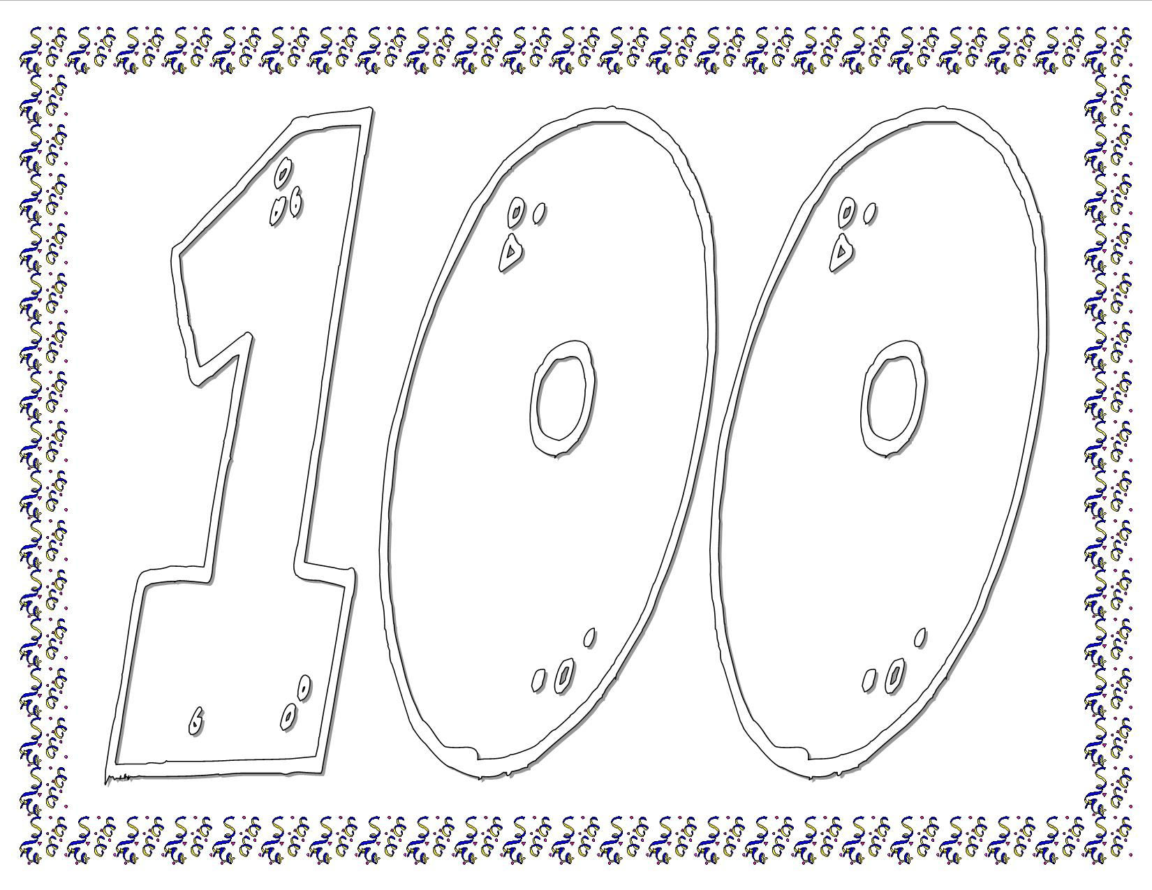 100Th Day Of School Worksheets And Printouts | Printable 100 Day Worksheets
