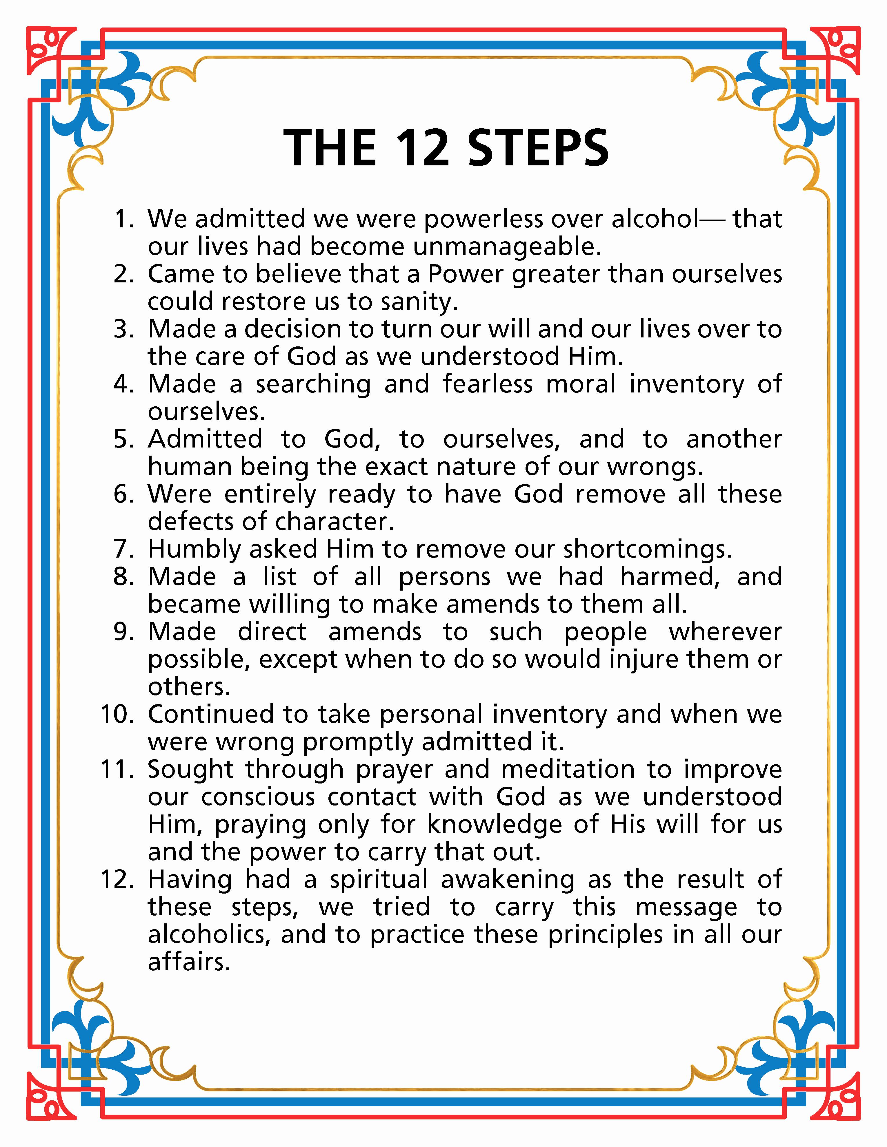 12 Steps Of Aa Worksheets Lovely Step 2 Aa Worksheet Elegant Third | Aa 12 Steps Printable Worksheets