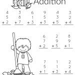 1St Grade Math And Literacy Worksheets With A Freebie! | Teachers | Free Printable Addition Worksheets For 1St Grade