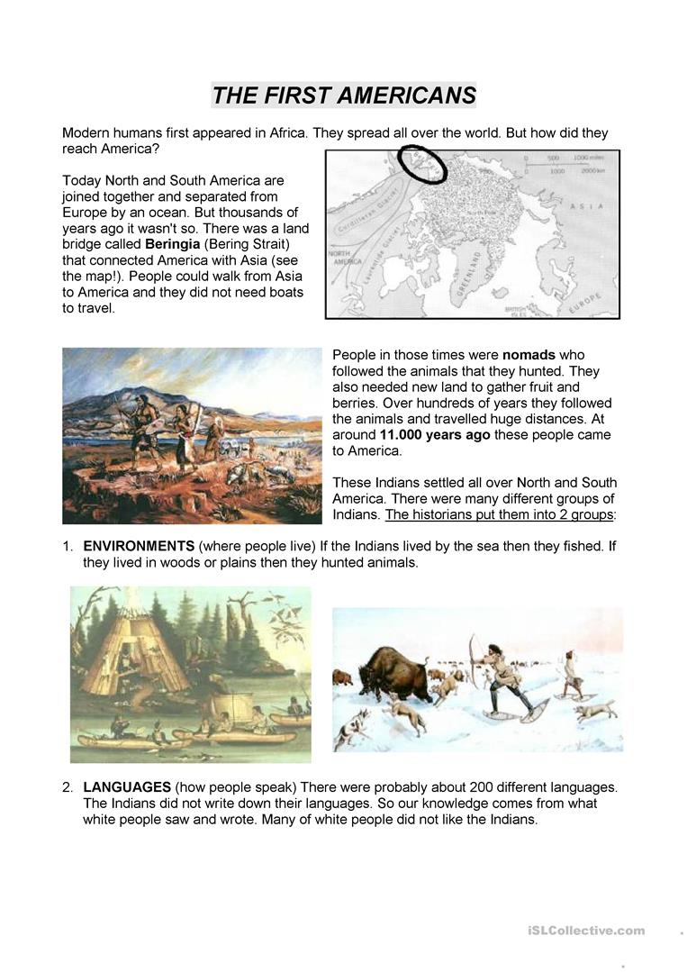 2 Free Esl Christopher Columbus Worksheets | Christopher Columbus Printable Worksheets