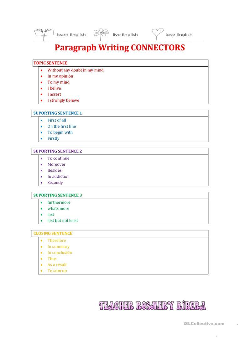 20 Free Esl Paragraph Writing Worksheets | Free Printable Paragraph Writing Worksheets