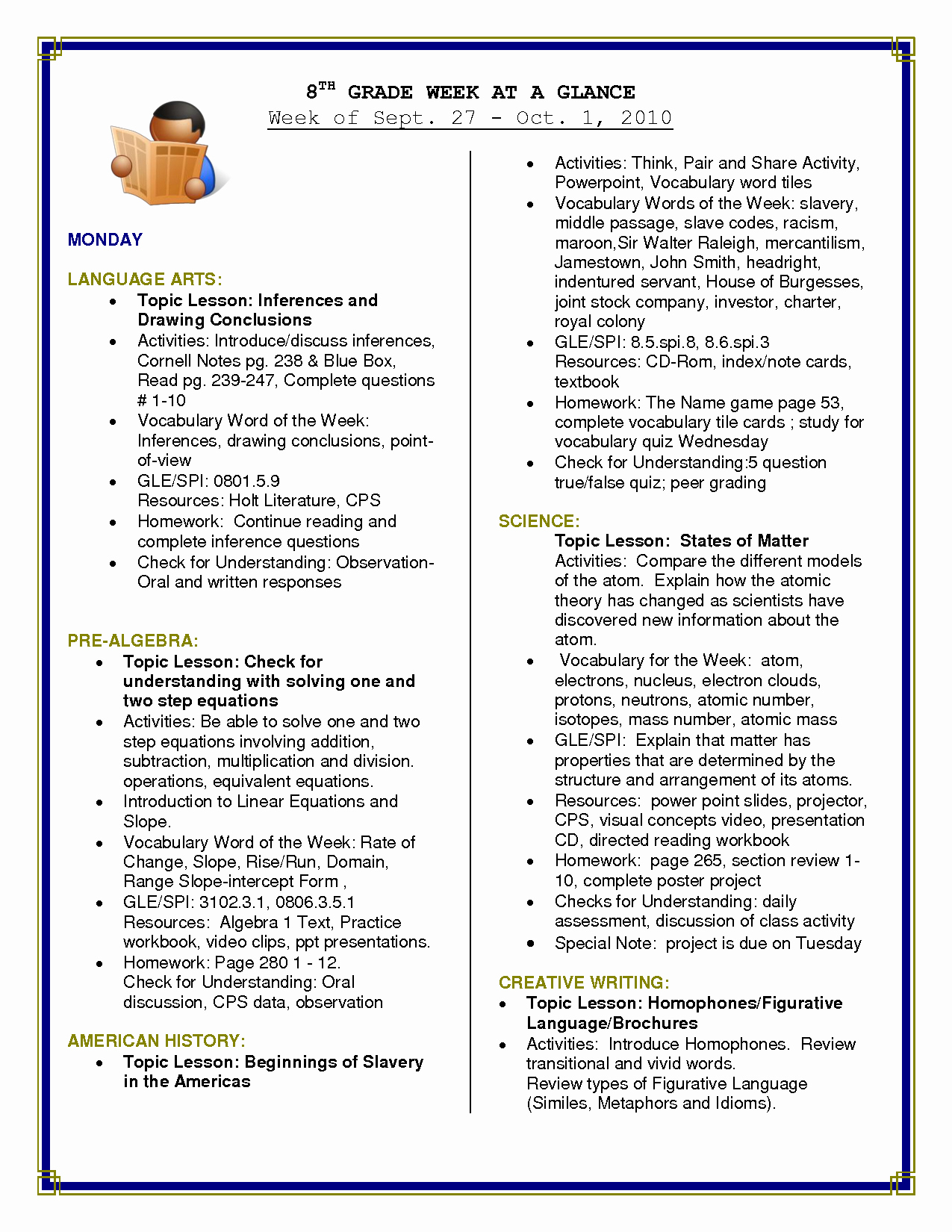 20 Reading Comprehension For 7Th Grade Free Worksheets - Free   Free Printable Us History Worksheets