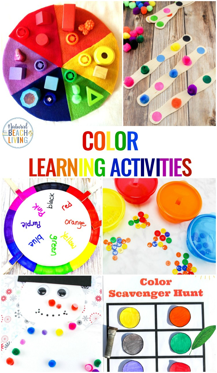 25+ Preschool Color Activities Printables - Learning Colors | Learning Colors Printable Worksheets