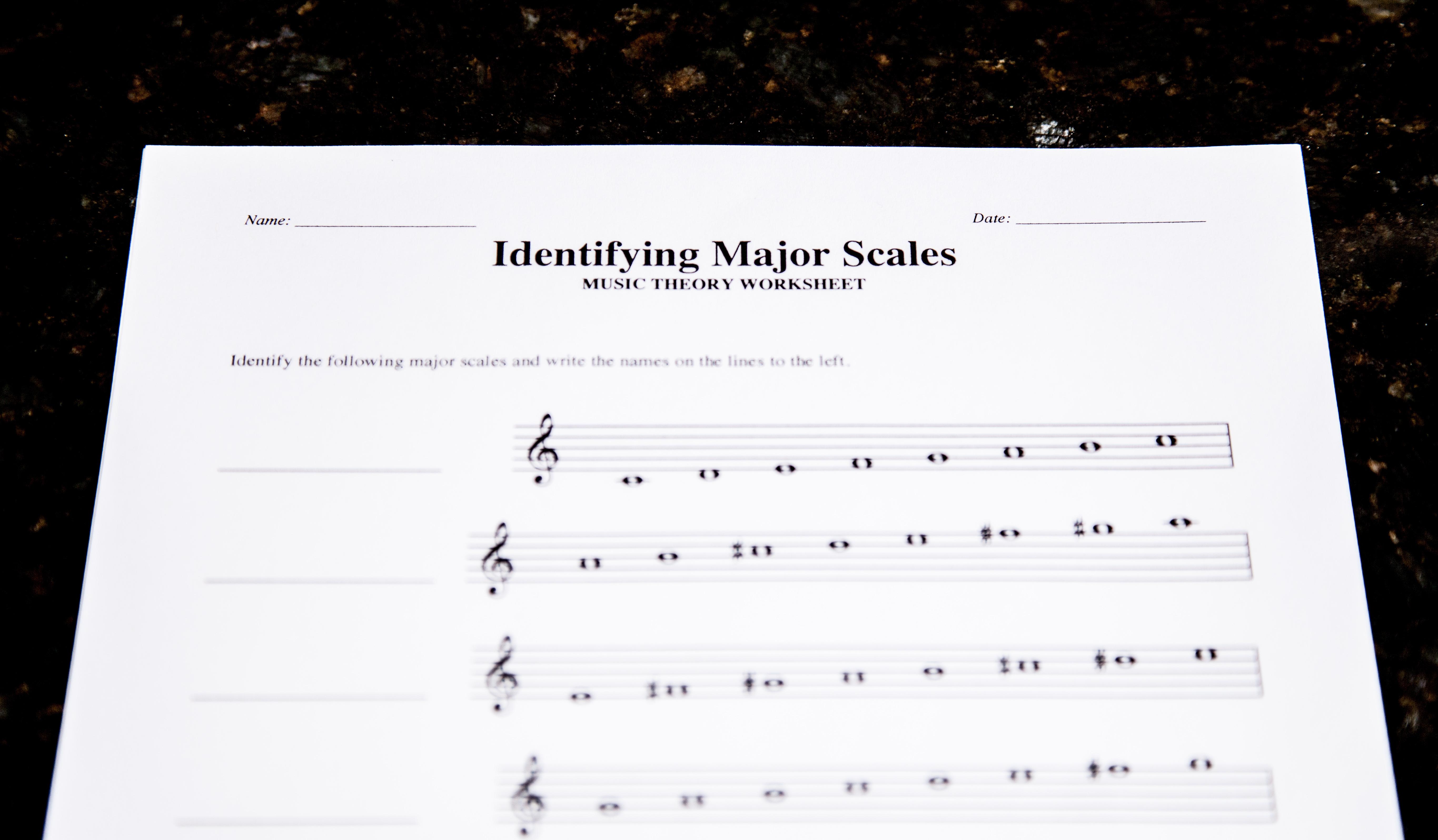 3 Free Theory Worksheet Printables: Major Scales – Lacie Bowman Music | Free Printable Music Theory Worksheets