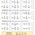30 Free Maths Worksheets   Math   Kids Math Worksheets, Ks3 Maths   Free Printable Simplifying Fractions Worksheets