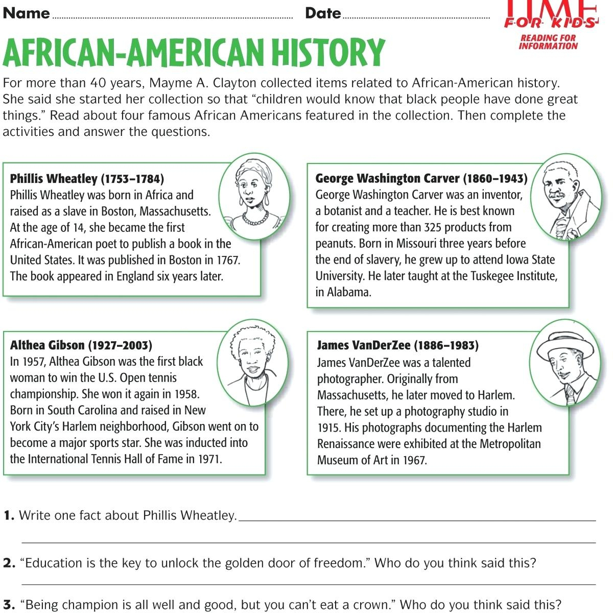 3Rd Grade Social Studies Worksheets For Download Free - Math - Free | Printable Photography Worksheets