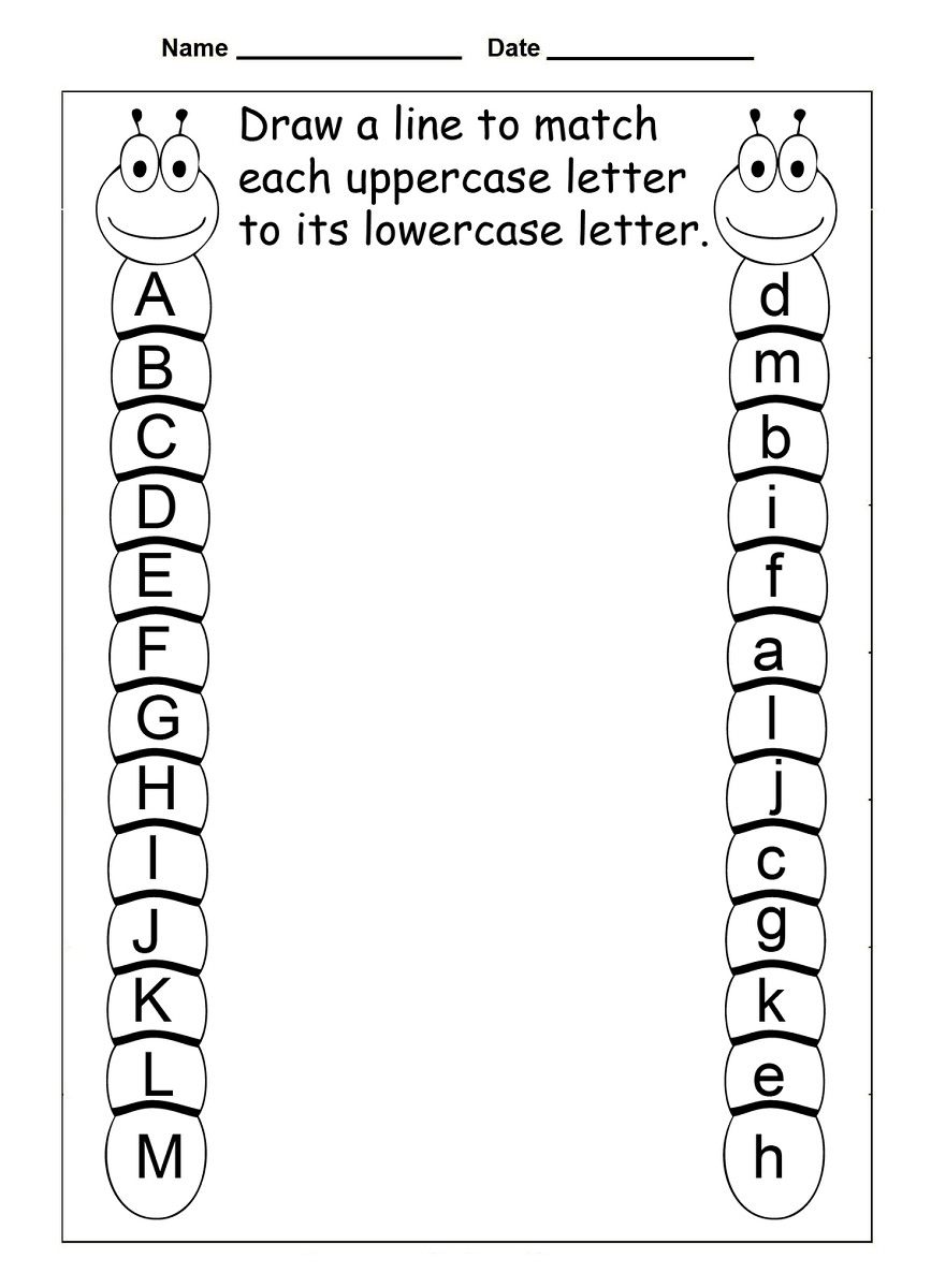 4 Year Old Worksheets Printable | Kids Worksheets Printable | Free Printable Preschool Worksheets
