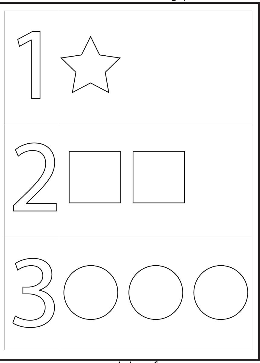 4 Year Old Worksheets Printable | Preschool | Preschool Worksheets | 2 Year Old Worksheets Printables