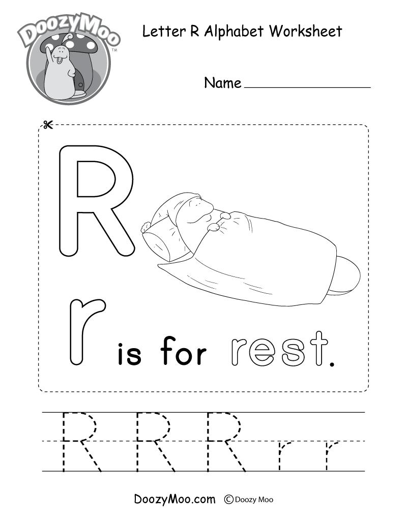 Alphabet Worksheets (Free Printables) - Doozy Moo | Alphabet Printables Free Worksheets