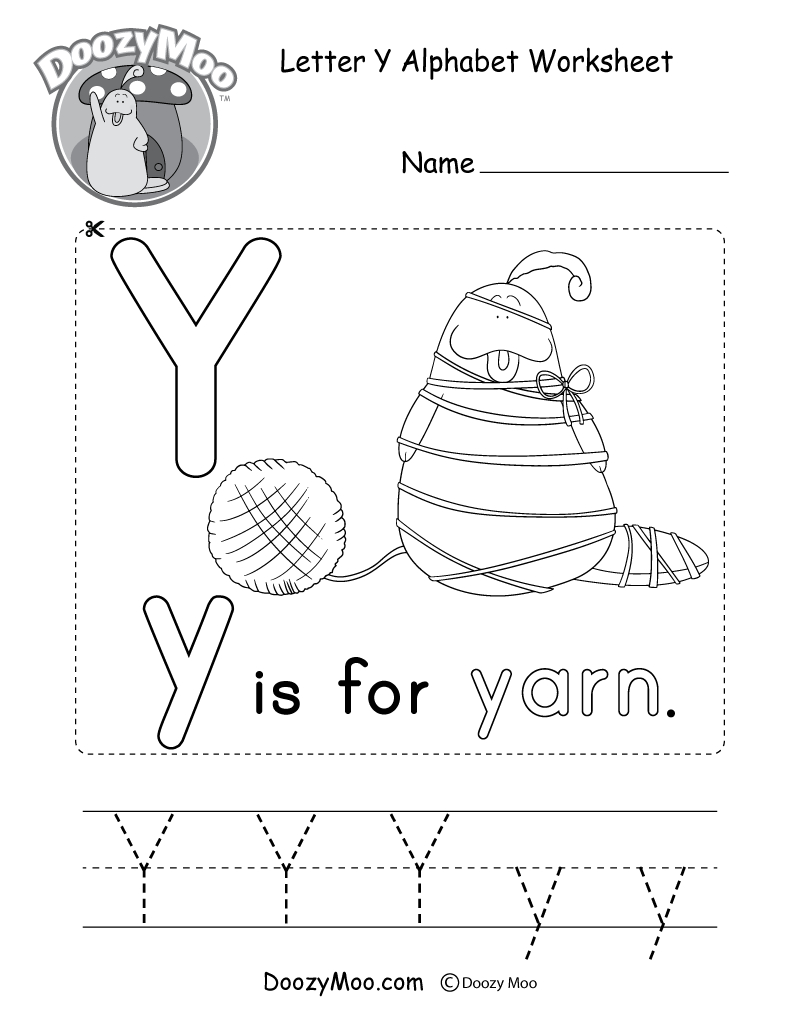 Alphabet Worksheets (Free Printables) - Doozy Moo | Printable Alphabet Worksheets