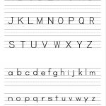 Alphabet Writing Practice Sheet | Edu Fun | Alphabet Worksheets | Preschool Writing Worksheets Free Printable