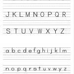 Alphabet Writing Practice Sheet | Edu-Fun | Alphabet Worksheets | Printable Letter Worksheets For Preschoolers