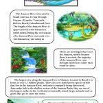 Amazon River Worksheet   Free Esl Printable Worksheets Madeteachers | River Worksheets Printables