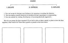 Anger Management Worksheets – Baskentmuhendislik | Child Therapy | Anger Management Printable Worksheets