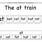 Beautiful Math Worksheets For Kindergarten Pdf Fun Worksheet In | Free Printable Word Family Worksheets For Kindergarten
