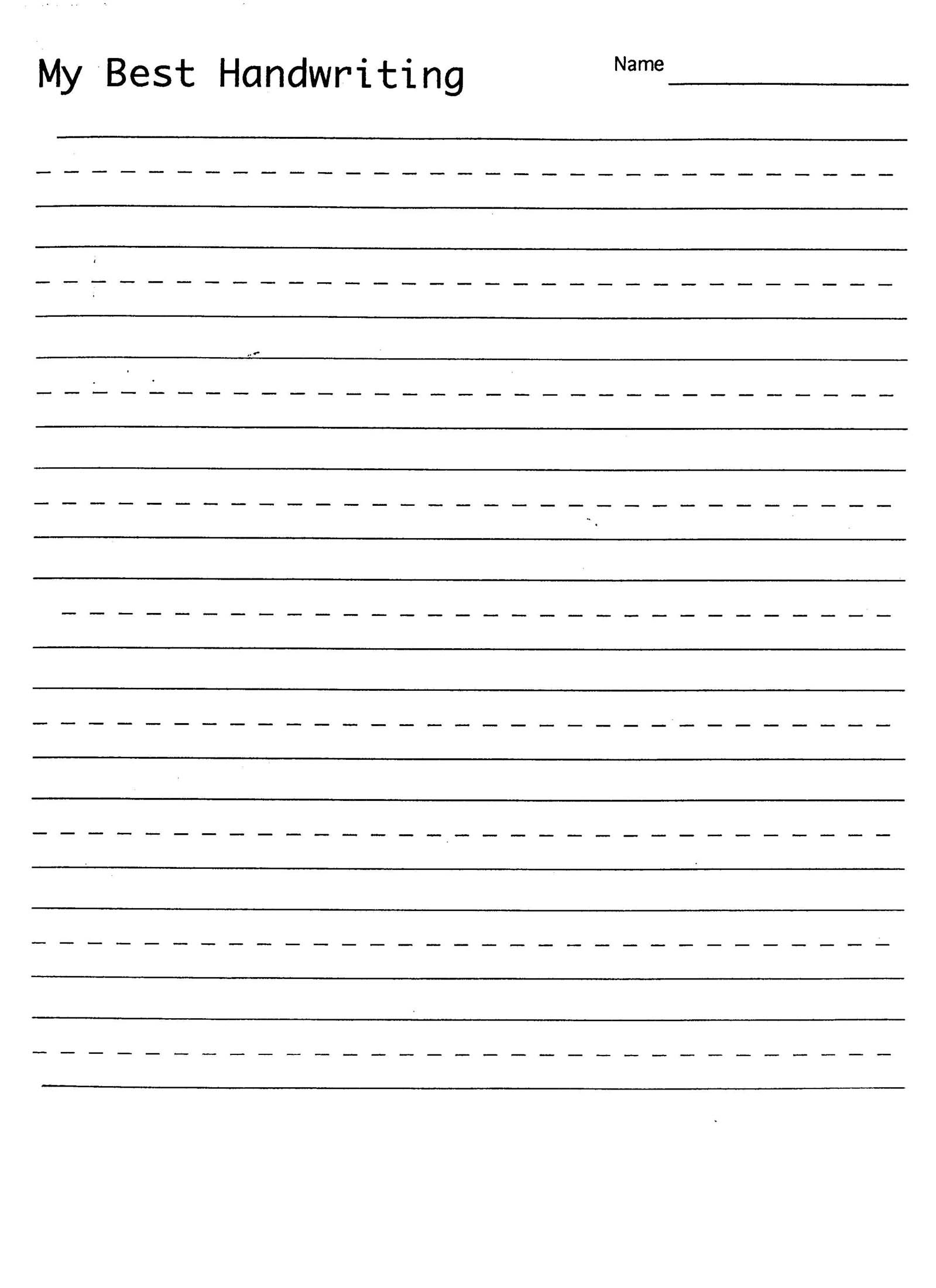Best Printable Handwriting Sheets | Activity Shelter | Printable Penmanship Worksheets