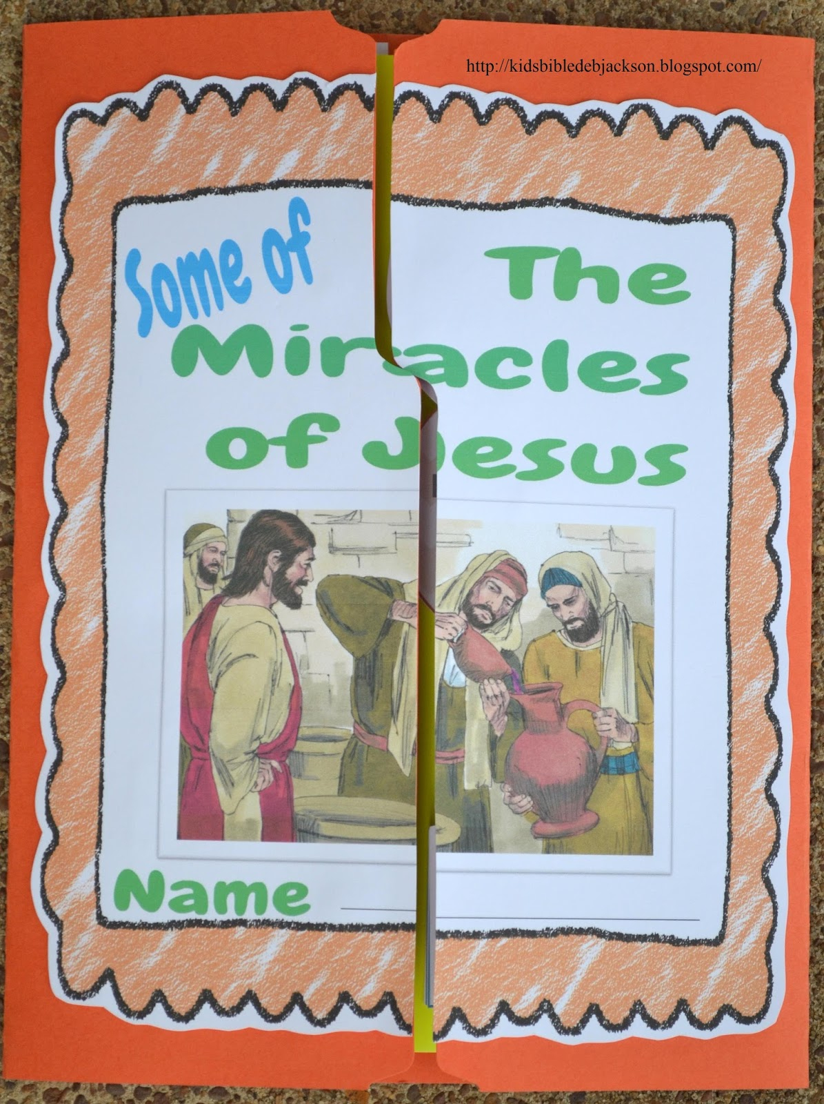 Bible Fun For Kids: Jesus And His Miracles | Printable Worksheets Miracles Jesus