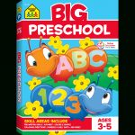 Big Preschool Workbook Gets Kids Ready For Success | School Zone | Big And Small Ideas Printable Worksheets