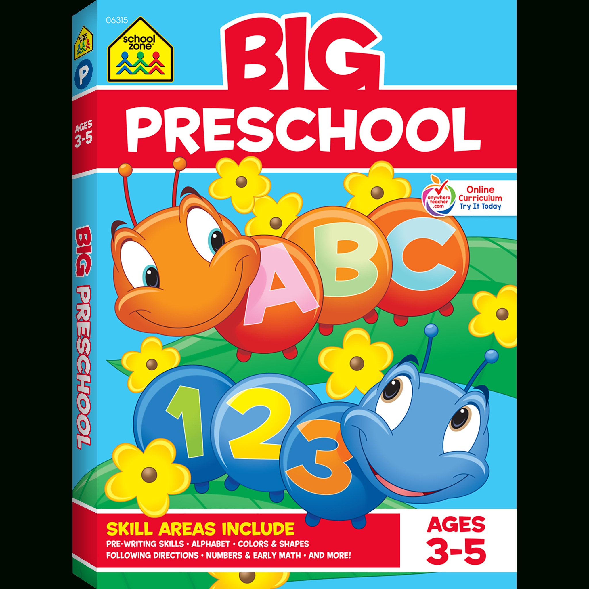 Big Preschool Workbook Gets Kids Ready For Success   School Zone   Big And Small Ideas Printable Worksheets
