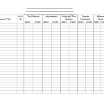 Blank Accounting Worksheets   Karis.sticken.co | Accounting Worksheet Template Printable