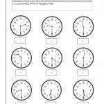 Blank Clock Worksheet To Print | Kids Worksheets Printable | Clock | Printable Time Worksheets Grade 3