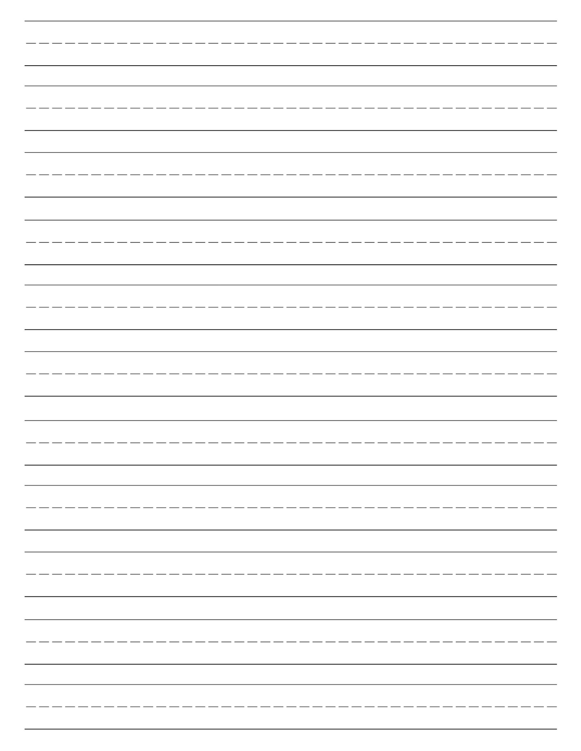 Blank Handwriting Paper - Koran.sticken.co | Blank Handwriting Worksheets Printable Free