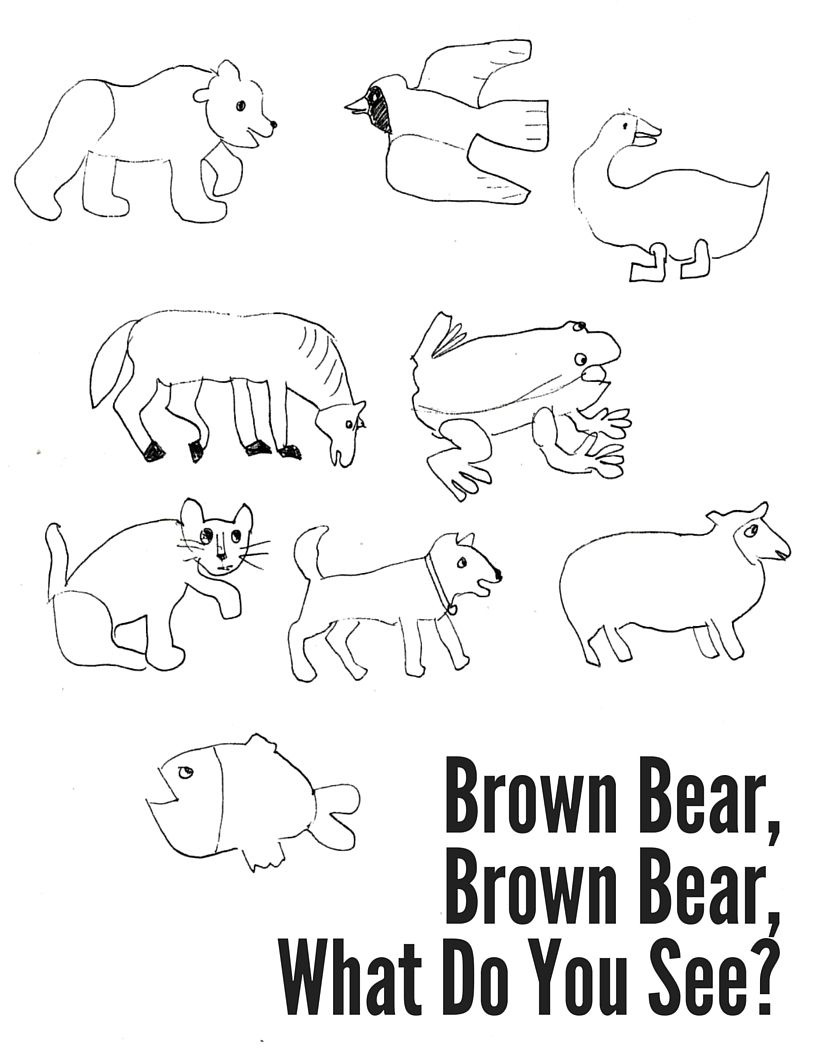 Brown Bear, Brown Bear Coloring Sheet | Activities | Coloring Sheets | Brown Bear Brown Bear Printable Worksheets