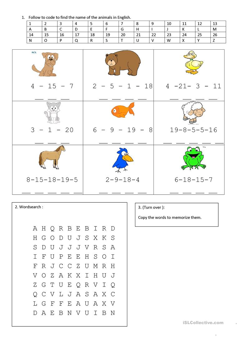 Brown Bear, Brown Bear, What Do You See? Worksheet - Free Esl | Brown Bear Brown Bear Printable Worksheets
