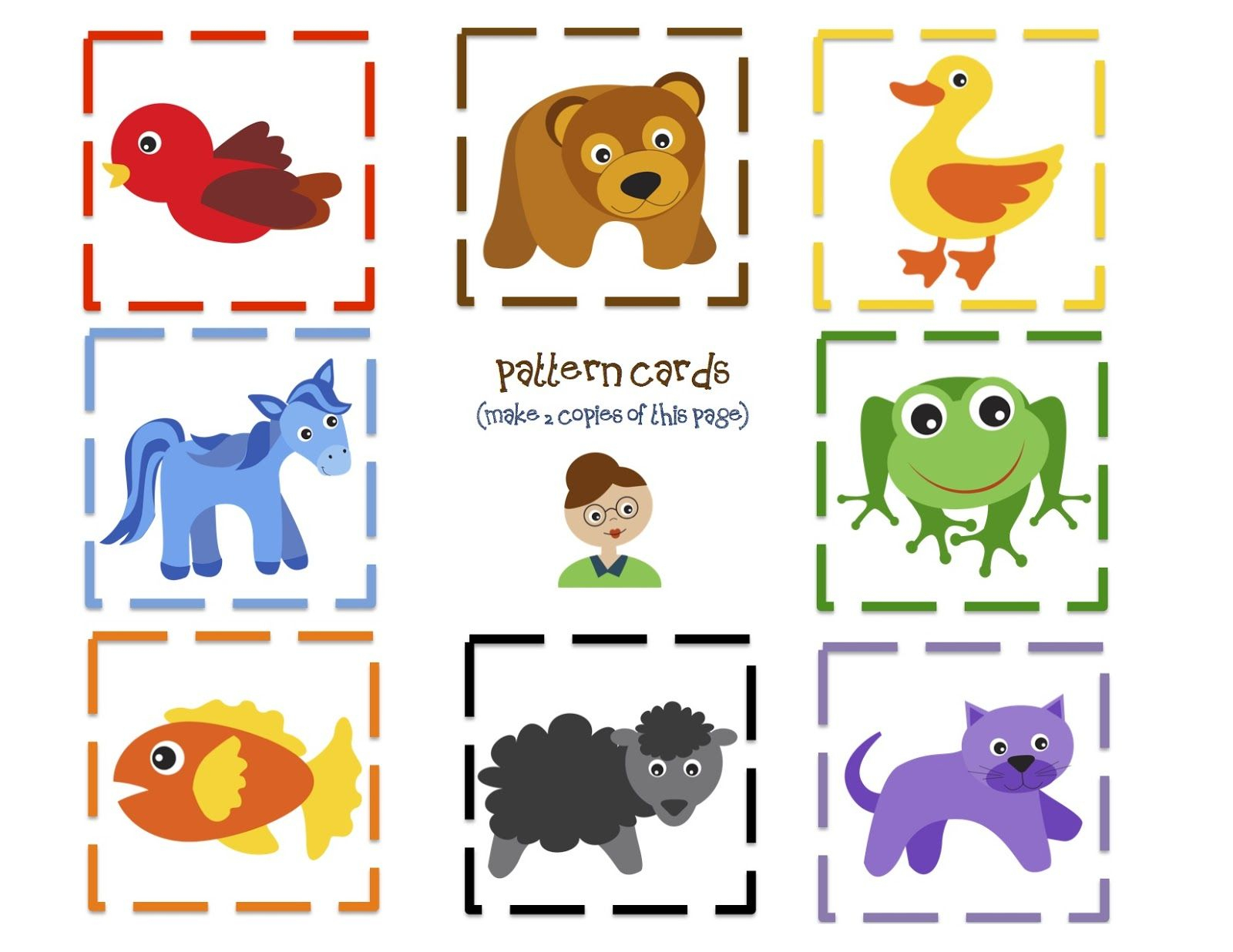 Brown Bear Fun Printable | Preschool | Preschool Printables | Brown Bear Brown Bear Printable Worksheets