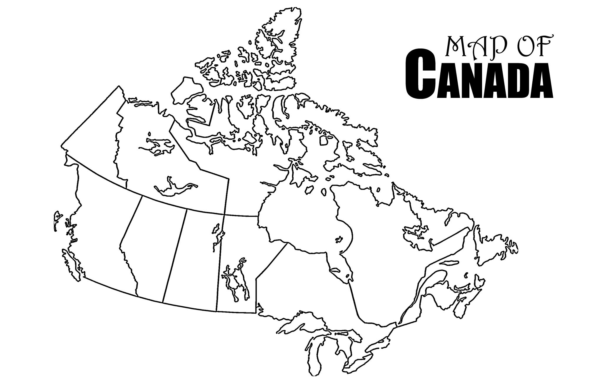 Canada Map Worksheet Free Best Download Blank Canada Map Quiz Of | Free Printable Map Of Canada Worksheet