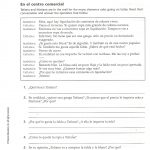 Capitulo 2   Sra. Sheets' Spanish Class | Spanish Reflexive Verbs Worksheet Printable