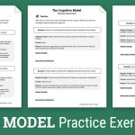 Cbt Practice Exercises (Worksheet) | Therapist Aid   Free Printable | Cbt Printable Worksheets
