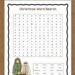 Christmas Word Search: Free Printable   Mamas Learning Corner | Christian Christmas Worksheets Printable Free