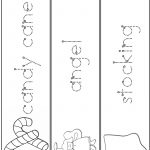 Christmas Word Tracing Practice | A To Z Teacher Stuff Printable | Printable Name Tracing Worksheets
