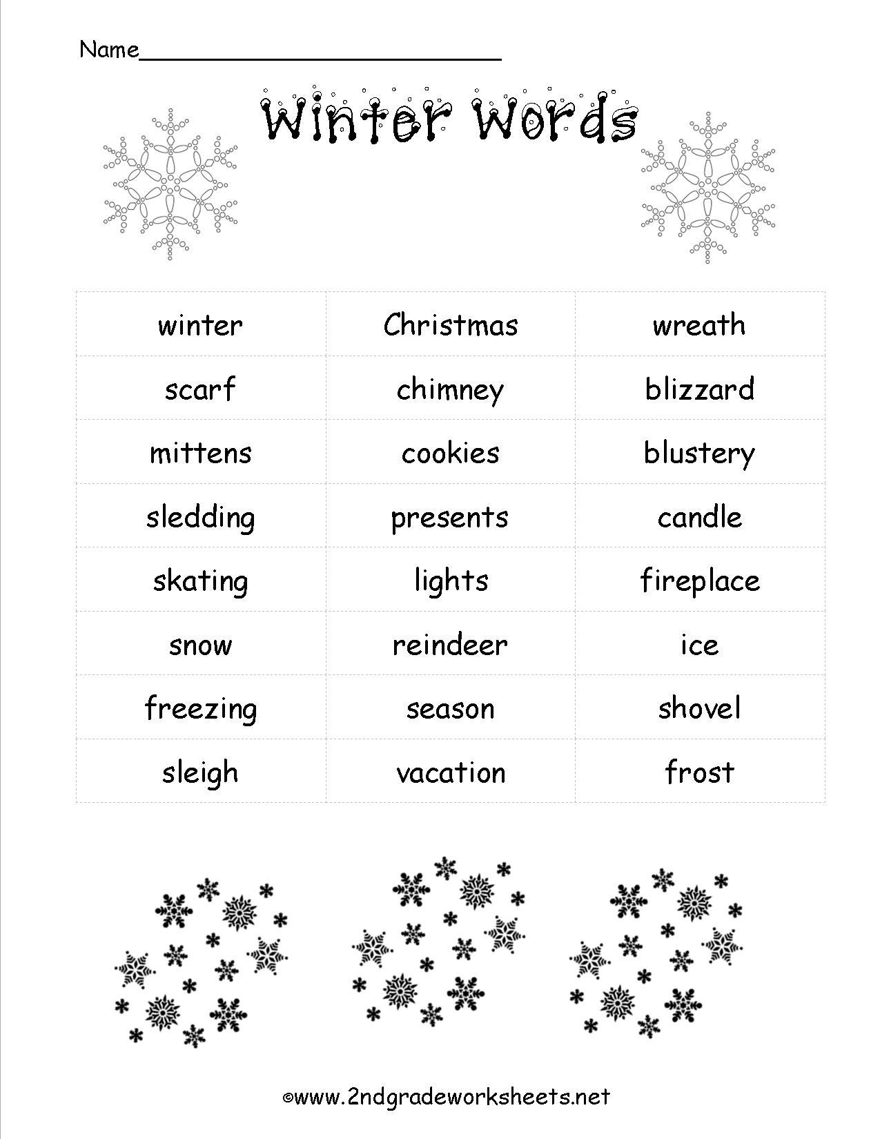 Christmas Worksheets And Printouts | Christmas Fun Worksheets Printable Free