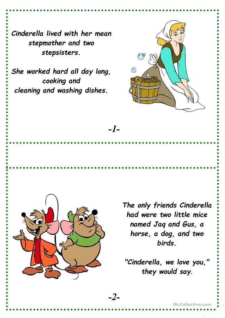 Cinderella (A Fairy Tale) Worksheet - Free Esl Printable Worksheets | Fairy Tale Printable Worksheets