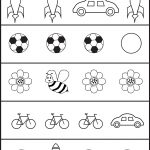 Circle The Picture That Is Different   4 Worksheets | Preschool Work | Free Printable Toddler Learning Worksheets