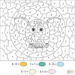 Coloring ~ Colornumber Math Worksheets Authenticlour Numbers   Printable Color By Number Math Worksheets