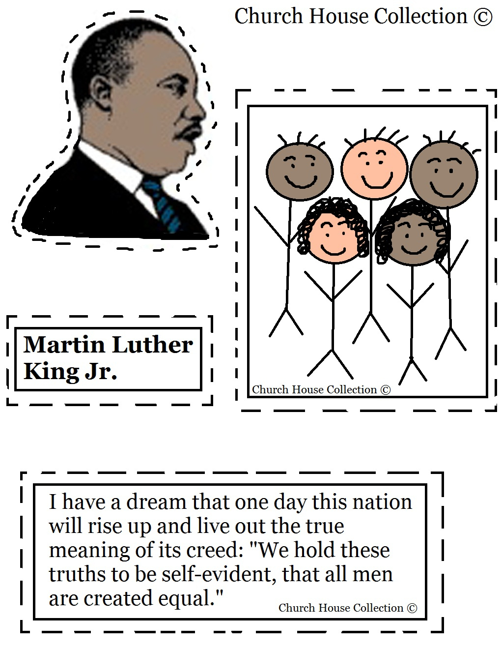 Coloring Pages ~ Free Printable Coloringes Of Martin Luther King Jr | Free Printable Martin Luther King Jr Worksheets For Kindergarten