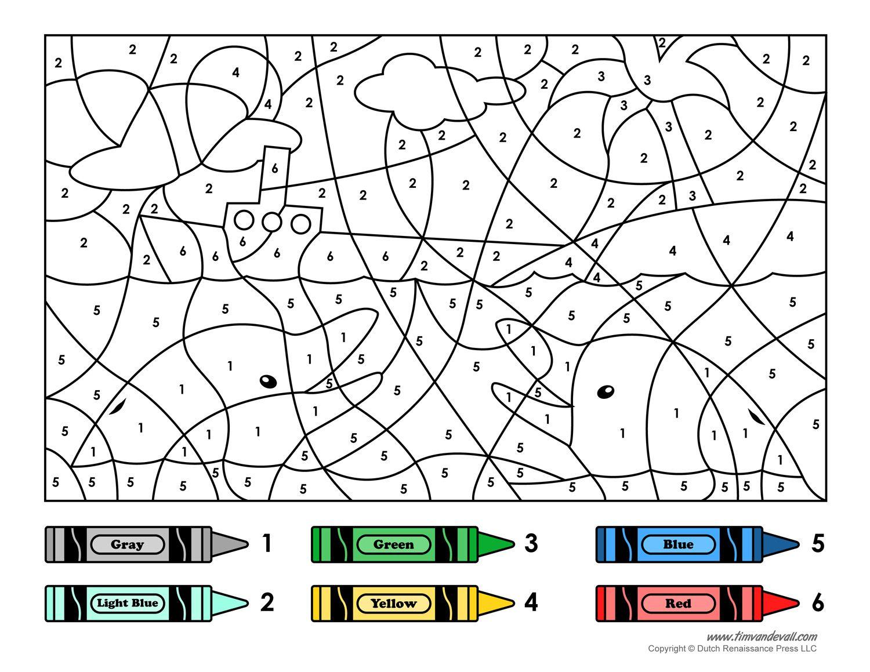 Colornumber Printables | Color |Number | Printable Numbers | Free Printable Color By Number Addition Worksheets