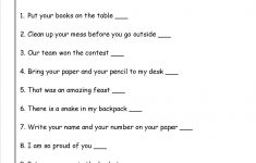3Rd Grade Language Arts Worksheets Printables