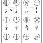 Comparing Fractions Worksheets    3Rd Grade #math #school | School's | Free Printable Fraction Worksheets For Third Grade