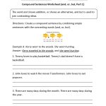 Compound Sentences Worksheets | Englishlinx Board | Pinterest   Free | Free Printable Worksheets On Simple Compound And Complex Sentences