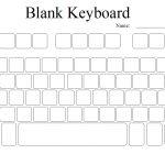 Computer Keyboard Template Printable. Blank Printable Puter Keyboard | Free Printable Computer Keyboarding Worksheets