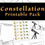 Constellation Printable Pack | Constellations Printable Worksheets