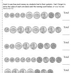 Counting Coins And Money Worksheets And Printouts | Printable Money Worksheets