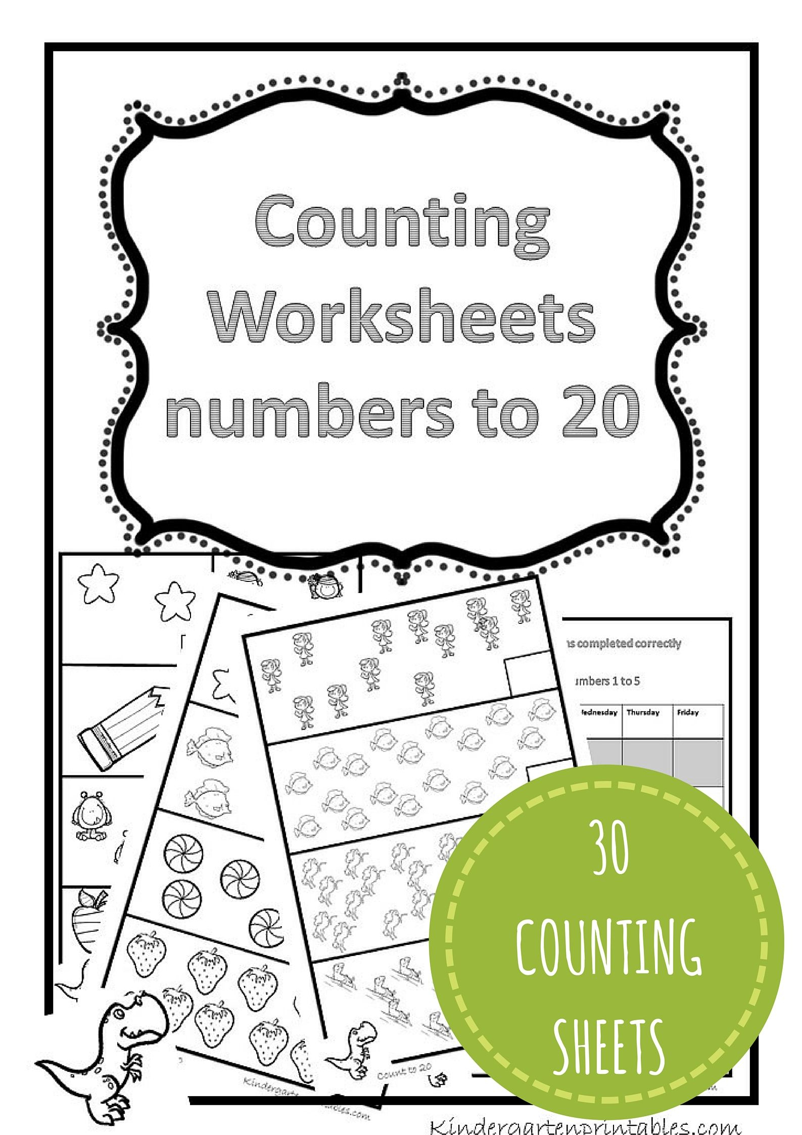 Counting Worksheets 1-20 Free Printable Workbook Counting Worksheets | Free Printable Counting Worksheets 1 20