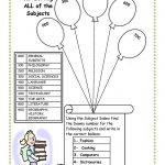 Cute, To Bad I Killed Dewey. Library Skills Worksheet. | Cool Ideas | Free Printable Library Skills Worksheets