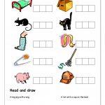Cvc Activities For Kindergarten Awesome Free Printable Cvc   Cvc | Cvc Worksheet Printable
